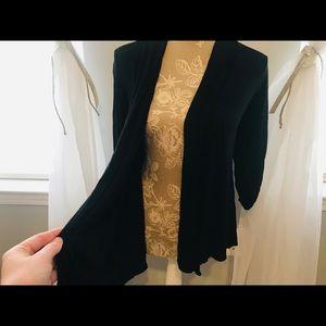 ckw Sweaters - Black Cardigan